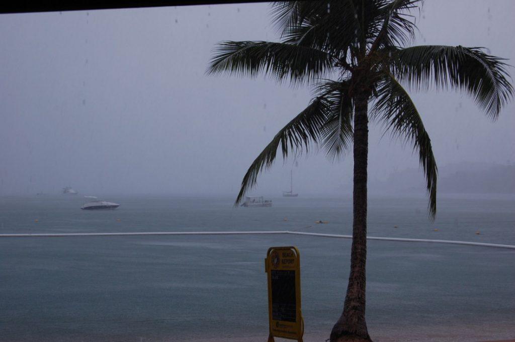 Regen auf Magnetic Island
